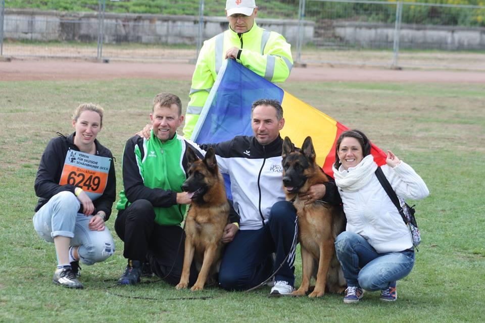 Canisa von Bienenwald – Rezultate de excepţie la Campionatele Mondiale de la Nurnberg, 2015